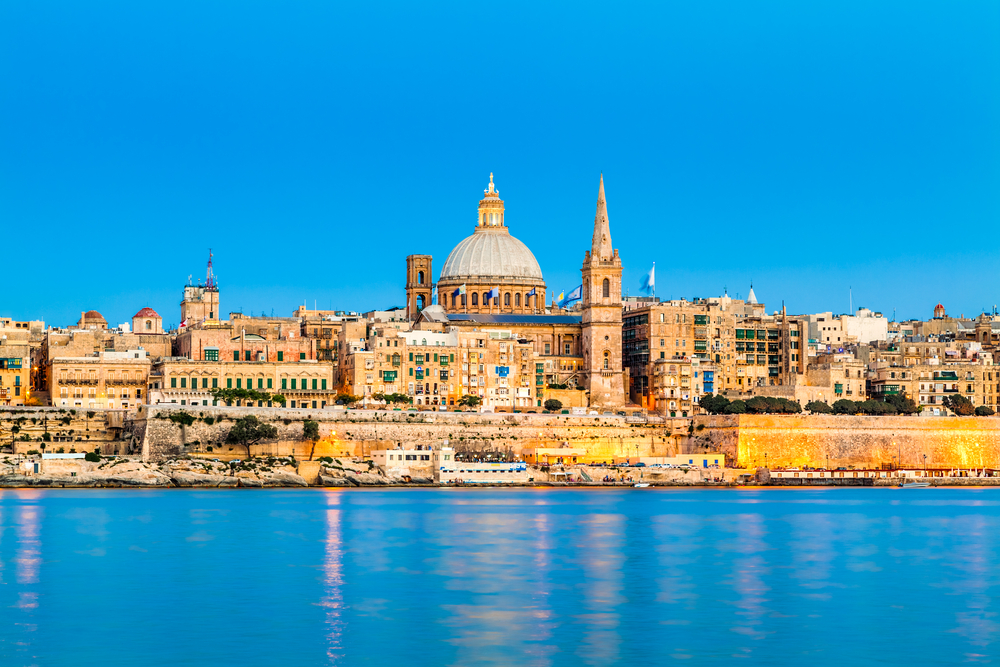 Search now for great holidays to Valletta